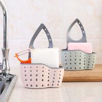 Hanging Storage Drain Basket Sink Organizer Rack Sponge Holder Kitchen