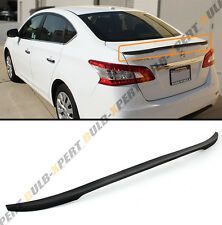 JDM SPORT STYLE REAR TRUNK SPOILER WING LIP FOR 2013-2017 NISSAN SENTRA SEDAN