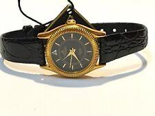 Vintage Pyramid Diamond Quartz Ladies Wrist Watch GoldTone  N.O.S(PYR-088J)