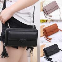 Women Small Cross body Cell Phone Shoulder Bag Pouch Handbag  Card  Purse Wallet