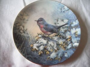 FIRST LIGHT The Winter Garden Collection Plate by Wedgwood