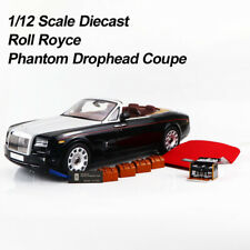 1:12 KYOSHO Rolls Royce Phantom Drophead Coupe Diecast Car Model Rare Collection