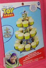 Toy Story Cupcake/Treat Stand,Cardboard,Wilton,Disney,1512-8080,Blue,Buzz