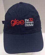 New Era Glee 3D Concert Movie TV Show Hat Cap Blue Strap Back Men's OSFA Rare