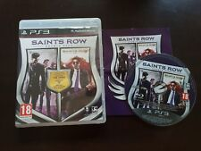 PS3 : saints row 3 et 4 double pack