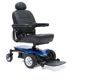 Jazzy Select Elite Power Wheelchair, BLUE, New Unit, Easy Transport