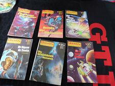 6 Gemini Science Fiction Romanhefte