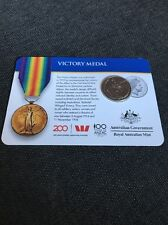 2017 Legends of the Anzacs Medal Collection Victory Medal COIN 10