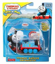 Thomas & Friends Train TAKE n PLAY Railway Adventures Die Cast Engine & DVD New