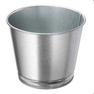 "IKEA Bintje Plant Pot Galvanized 103.414.85 Size 4 ¼"""