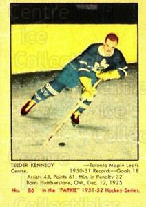2002-03 Parkhurst Reprints #304 Ted Kennedy