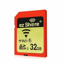 Wi-Fi Wireless SDHC 32GB Class 10 SD Memory Card for eye fi transcend ez Share