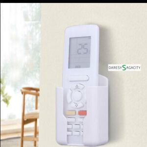 D-S Fernbedienungshalter Wand Klimaanlage Halterung Halter Fernbedienung Weiß