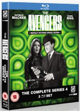 Patrick MacNee, Diana Rigg-Avengers: The Complete Series (UK IMPORT) Blu-ray NEW