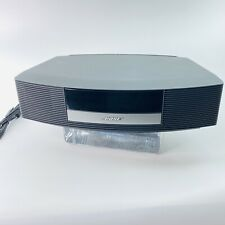 New listing Bose Wave Radio Ii Am/Fm Aux Alarm Clock Stereo w/ Remote, Cable & Cord