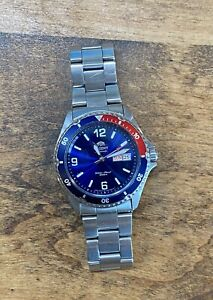 Orient Mako II 41.5 mm Pepsi Automatic Stainless Steel Diving Men's Watch