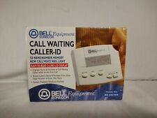 Bell Equipment Model: Be-50Cwr Call Waiting Caller-Id by Aastra Telecom (1999)