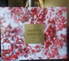New Marks & Spencer London large holiday paper gift bag
