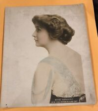 Bessie Barriscale Original 1915 Color Sepia Photo Hollywood Silent Film Star