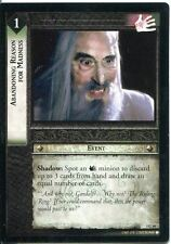 Lord Of The Rings CCG Card RotEL 3.C49 Abandoning Reason For Madness