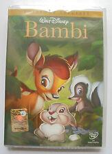 cofanetto+DVD NUOVO SIGILLATO BAMBI I CLASSICI WALT DISNEY cartoni animati<