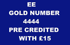 EE GOLD VIP BUSINESS NUMBER DIAMOND PLATINUM SIM CARD PICK FROM LIST ALL 4444