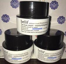 3X Belif The True Cream Moisturizing Bomb .33 oz Each Lot