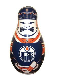 Edmonton Oilers NHL Inflatable Checking Buddy Punching Bop Bag