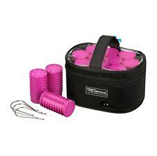TRESemme 3039U Ceramic Large Lightweight Heated Volume Soft Hair Rollers Pink