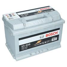 Bosch S5 008 12V 77Ah 780 A EN Autobatterie Starterbatterie ersetzt 70Ah 85Ah