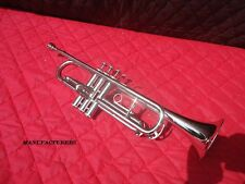 BUY-NEW-AWSOME_SALE-FOR*STUDENTS-BAND-CERTIFIED-B-flat-TRUMPET-7C-MP-SILVER