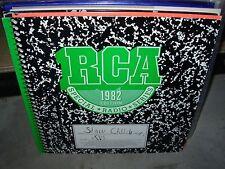 SLOW CHILDREN rca speacial radio series vol 16 ( rock ) insert - PROMO -