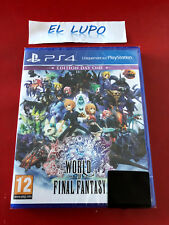 WORLD OF FINAL FANTASY EDITION DAY ONE SONY PS4 NEUF SOUS BLISTER VF