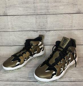 Men Nike Air VaporMax Gliese Metallic Field Rare Casual Shoes AO2445-900 Sz 10.5