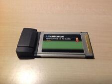 Manhattan PCMCIA USB 2.0 2 porte adapter express card