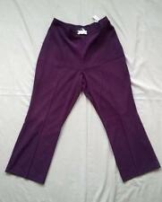 Purple Tailored Trousers for Women