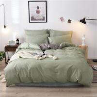 4X 3D Duvet Quilt Cover W/ Pillowcases Bedding Set Single King Double Queen