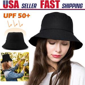 Men Women Fisherman Sun Hat UPF 50+ Hiking Bucket Cap Full Face Dustproof Cover
