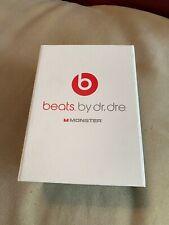 Beats by Dr. Dre Monster Caja y manual solamente *** auriculares no incluidos ***