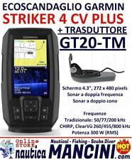GARMIN STRIKER 4 CV PLUS ECOSCANDAGLIO CON TRASDUTTORE GT20-TM 4CV 010-01871-01