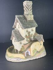 David Winter Cottages House Of Master Mason Great Condition Box Nice Early Piece