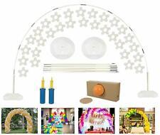 arco de globos Grande para fiestas de boda cumpleanos shower Quinceañera 8x11 ft
