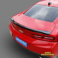 R1 Trunk Spoiler Wing For 2016-2017 Chevy Camaro SS V8 V6 Painted Gloss Black