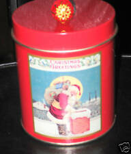 AVON CHRISTMAS GREETINGS Candle - New-cute for holidays!