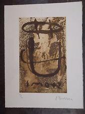 Jacques Bosser lithographie P 1148
