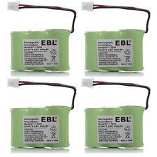 4x Cordless Phone Batteries for Vtech BT-17333 BT-27333 BT-163345 CS2111 CS5111