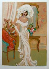 "ISAAC MAIMON ""CANDIDE"" Hand Signed Limited Edition Serigraph Art"