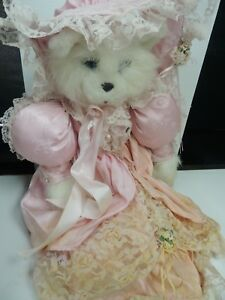 """Tilly Plush Lady Cat! 24"""" COA #437 """"Camille Chavalier"""" Tilly Collectibles 1987"""