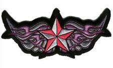 Patches étoile avec aile 13x6 cm Winged étoile Patch Rose Neuf MODERN