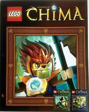 Lego Chima LGO6599 Pocket Folders NIP 2 Styles Great Gift - New